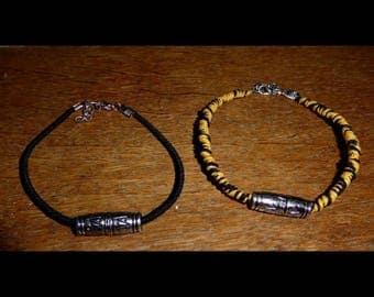 Mens string bracelet