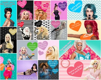 Drag Race Queens Valentines