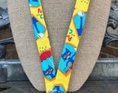 Pete the Cat ID Badge Holder Lanyard