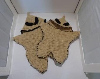 Crochet Oogie Boogie Cocoon