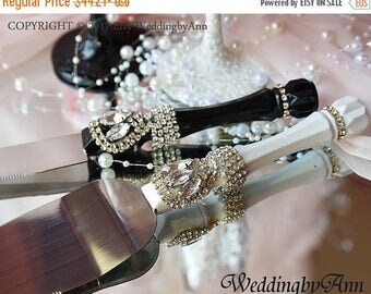 black wedding cake serving set wedding cake serving set decorated with fish 11883