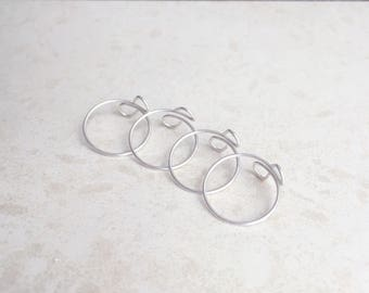 Thin Ring, Sterling Silver Rings, Ring Set, Toe RIng, Fashion Jewlery, Bridesmaids Rings, Midi Rings, Knuckle Rings, Wire Rings, Simple Ring