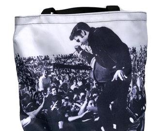 Vintage Elvis Presley Tote Bag