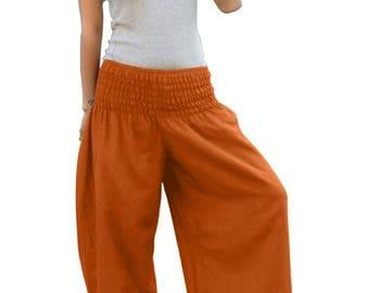 Thai Pants * Harem Pants * Harem Trousers * Sarouel * Yoga Pants * Baggy Pants * Travel * Gypsy * Hippie * Aladdin * Genie *Cotton*PS-terra
