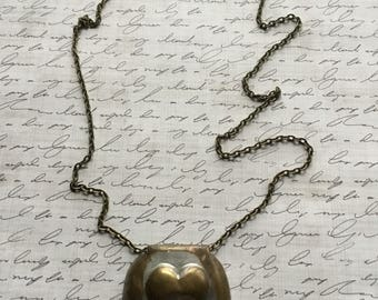 Antique Buckle (?) Necklace