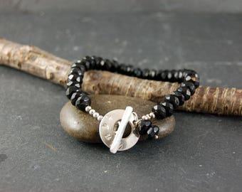 Black Obsidian Talisman Bracelet