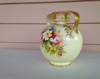 Doulton Burslem Floral Decorated Vase
