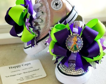 TinkerBell Hair Bow/ Shoe Toppers