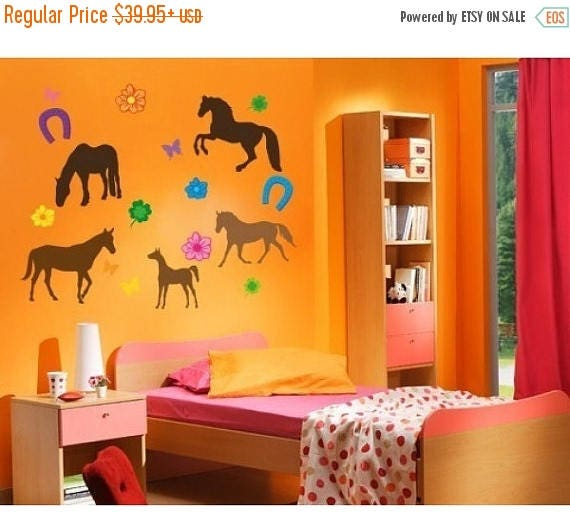 Horses Wall Graphic Decals by StyleandApplyDecals
