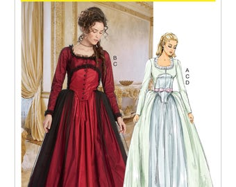 McCall's Pattern M7642 Misses' Dress Costume