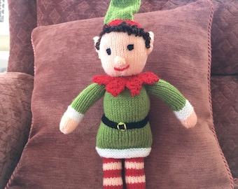 Knitted Elf / Elf on the shelf