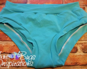 XXS-XXXL Solid Bunzies - super booty - custom underwear- cotton - cotton panties - Bunzies - Solid Bunzies - solid full coverage bunzies