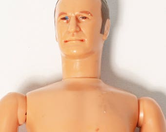 Vtg 1977 Kenner Six Million Dollar Man Oscar Goldman Figure - No Clothing