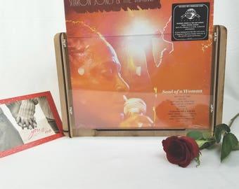 Valentine's Gift = Sharon Jones & the Dap-Kings New Vinyl Record Album+ a Wooden Vinyl Record Storage and Album Display Box