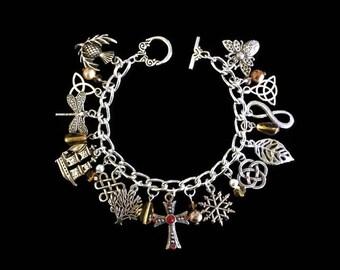 Outlander Inspired Charm Bracelet for the 9 Books