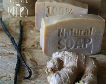 Zenzero e Vaniglia - sapone naturale vegetale artigianale (SALDO TEMPORANEO)