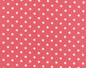 White Dots on Dark Pink Prairie by Corey Yoder for Moda   #29005 26