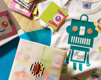 Pack Body Robot+rompecabezas