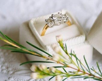 Wedding Ring Box in Ivory Great Gifts for Bridesmaids, Gifts for the Bride to Be or a Summer Wedding