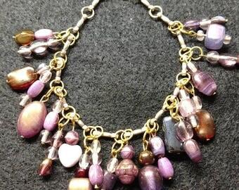 Beaded Charms Bracelet