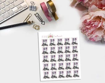 Hang Laundry Planner Stickers