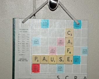 Scrabble door panel