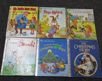 Vintage Golden Books Lot