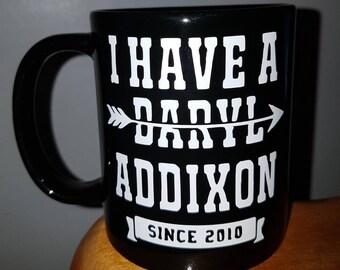 Daryl Dixon Walking Dead Mug