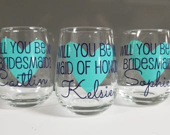 Will you be my bridesmaid gift, Asking Bridesmaid, Bridesmaid Proposal, My turn to pop the question, Bridesmaid Gifts