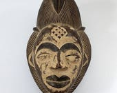 Punu Mask African Tribal ...