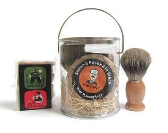 Beer Shaving soap Gift set-Father's day