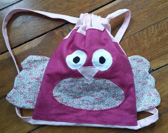 small OWL backpack for kids and baby