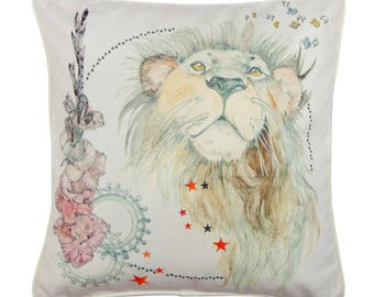 Leo Zodiac Cushion