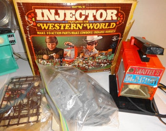 1968 Mattel's Injector Western World Set