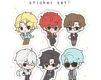 Mystic Messenger Sticker Set