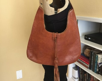 Banana Republic - Brown Leather Shoulder Handbag