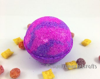 Cracking Crunch Berries Bath Bombs  Handmade Bath Fizzy
