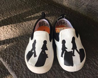 Beatles Abbey Road Inspired Shoes