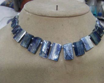 1. Strand Kyanite Rough beads 43, grams 10X14  10X21 MM