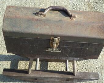 Rusty  Homak gray tool box
