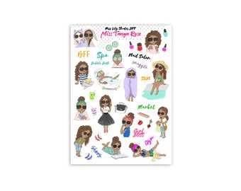 Miss Tanya Rose stickers