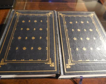RARE International Collector's Library 1957 Atlas Shrugged By Ayn Rand Complete 2 volume set First