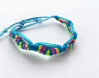 handmade colorful bracelet