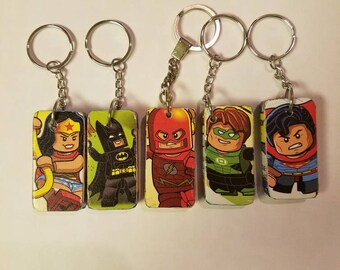 DC Superheroes Keychains