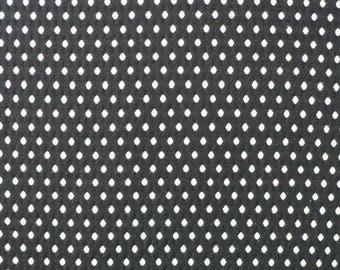 Solange, black, white woven diamond pattern