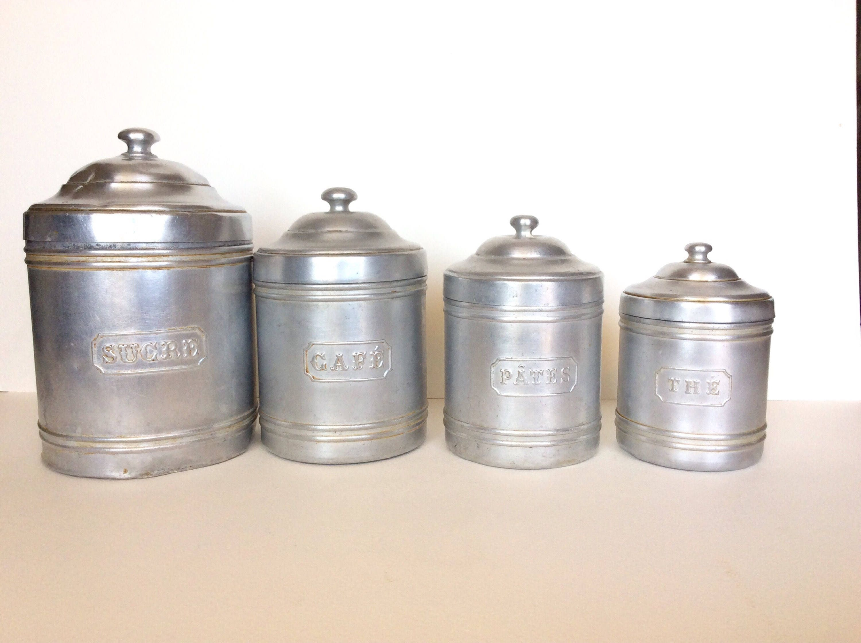 canister set vintage canister set french canisters french