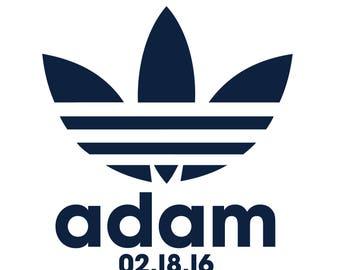 Inspired By Adidas Bar Mitzvah Logo