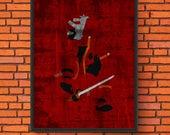 Minimalism Art - Deadpool...
