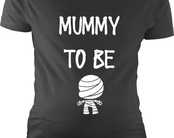 Mummy to be, T-shirt, Tank Top, or Maternity T-shirt, Halloween, Pregnancy annoucement, Bumps First Halloween, Baby Shower, Halloween shirts