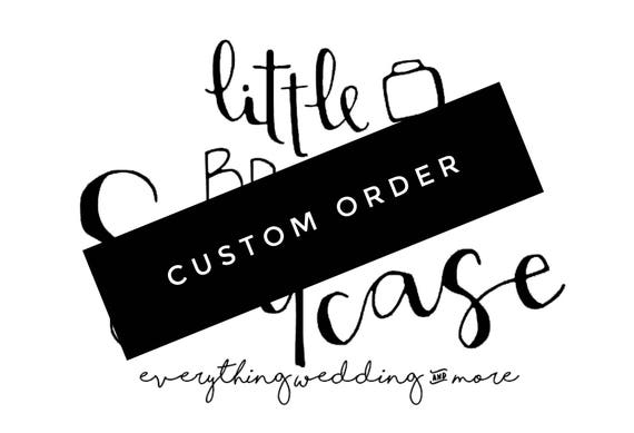 custom order for erin
